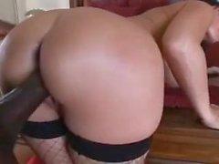 Belgia pornstar Eva Karera vie Lex teräksen kaikki reiät