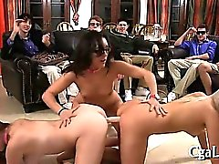 Lusty ass rimming session