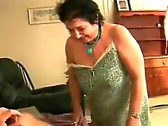 Thick Granny Giving A Great Blowjob