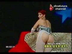 Milly D&#039_abbraccio - Diva futura hard