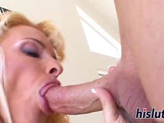Holly Halston is an expert dick-rider