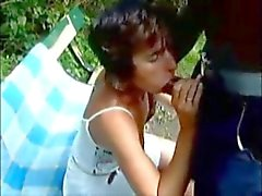 Cuckold Dream Wife sucks BBC in the park!