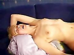 Bella strips and fucks