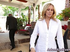 Knockers milf jizz soaked