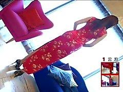 Японская девушка по китайский платья