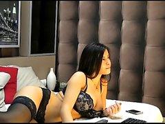 Amateur porn video with big boobed GF