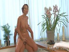 MOM Brunette MILF&#039_s having a good time