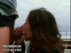 Sibel Kekilli enjoy outside sex
