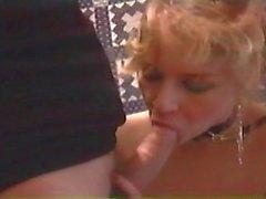 Colleen sucks cock and licks ass