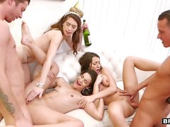 BFFS - Wild Bffs Fuckfest For New Years Eve