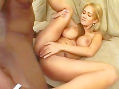 Gorgeous Girl Fucks a BBC & Swallows