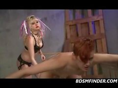 Lesbian Domination And Strap On