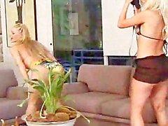 Pamela London Banging ile Dildo