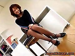Japanese mature chick has amazing sex part4