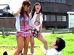 Sluts japanese taquinent Le Guy Il Trouver un