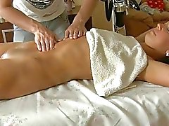 Captivating masseur is plowing babes fur pie