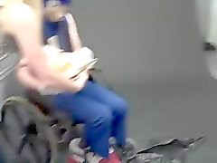 extreme fetish - sonic in a wheelchair eating a chili
