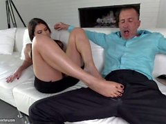 Valentina's sexy feet