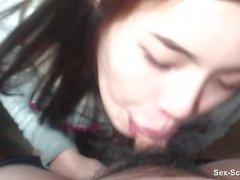 Домашнее видео горячая девушка сосет и трахается со своим другом ПОЛНЫЙ