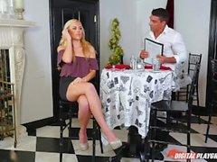 DP Star 3 - Tall Blonde Summer Day Deep Throat Blowjob