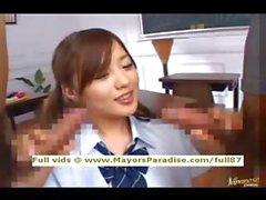 Miyu Hoshino innocent Chinese schoolgirl enjoys getting a hard fucked