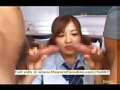 De Miyu Hoshino innocents écolière chinoise aime obtenir une difficile baisée