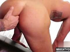 Big dick gays ass to mouth and cumshot