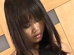Foxy Asian bitch receives a messy facial