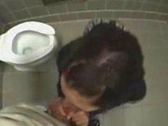 Kız okul tuvalet becerdin alır