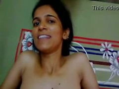 Indian sex - Sexy Indian girl begs her lover to not to cum on her face, Hindi audio