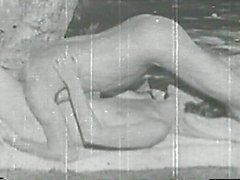 Vintage sex outdoor fun