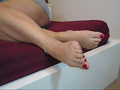 Barefeet foot show