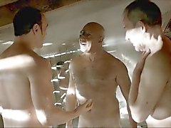 hot old men big cock - da vinci demons