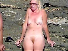 amateur nude girls in beach showing pussy nipple 19