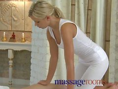 Massage Rooms Girls with perfect feet and legs suck and fuck big hard cocks