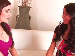 Anissa Kate with Taylor Vixen in Let's Try French... Kissing