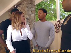 facialized ho takes bbc big cock