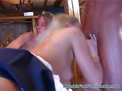 Illegal jezebels with dissolute quims conquer some cocks in the Alps