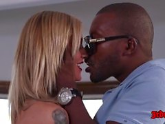 Super Hot Kleio Valentien In Interracial Sex