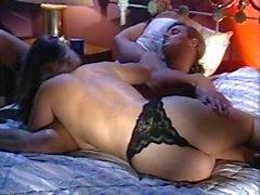 Alexandra Quinn Carolyn Monroe Savannah in classic porn clip