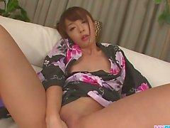 Hot japanese bondage and toy fucking