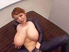 monster natural tits hitomi in latex b$r