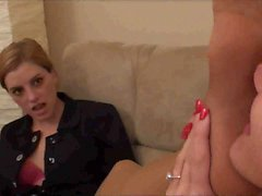 My Attorney Loves my Pantyhose Feet