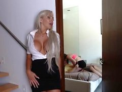 Redhead milf bondage anal xxx The house was empty, so she