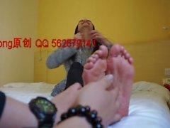 Student Model Feet Tickling 7