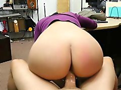 Horny and latina Jessi tries to sell a pet and gets hammered