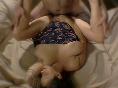 Milf that is brunette gets her vagina drilled and banged by