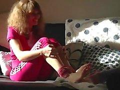 Mimi Foot Tickled 2 F/F