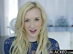 BLACKED Tiny Blonde Teen with Huge Black Cock!