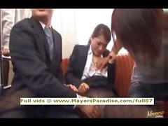 Mihiro innocente ragazza cinese ottiene un cazzo metro